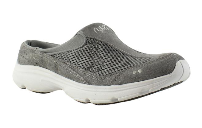 Ryka Womens Gray Slippers Size 7 (262688)
