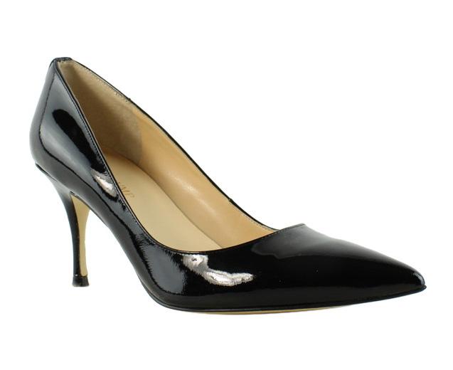 Ivanka Trump Womens Black Kitten Heels Heels Size 8.5 (258720)