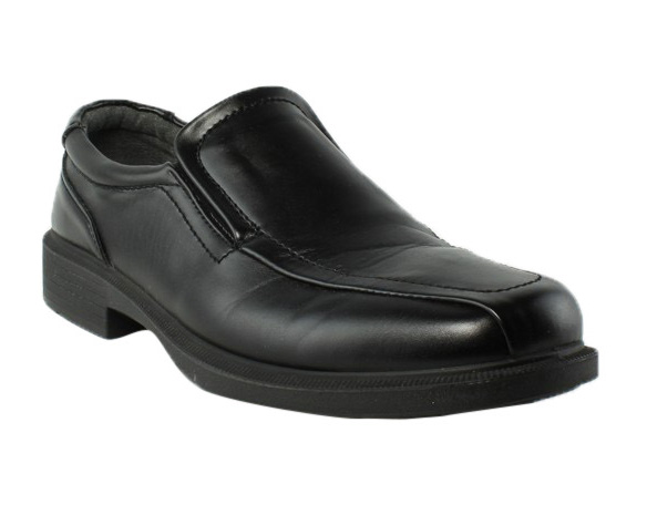 Deer Stags Mens Black Dress Loafers Size 10.5 Wide (E W) (262319)