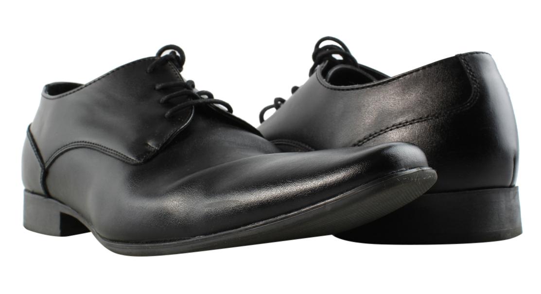 Calvin Klein Brodie Hombre US 13 Negro Zapato eB2ZU14a