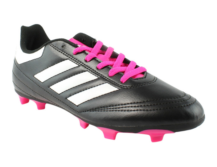 san francisco 75f79 1da6f New Adidas Mens Goletto Vi Fg J Black Soccer Cleats Size 5.5
