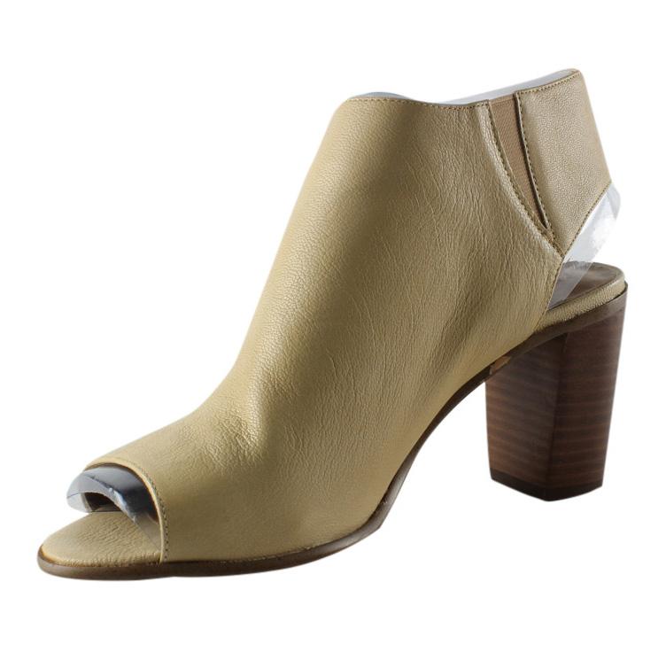 Steve Madden Womens Natural Open Toe Heels Size 8.5 New