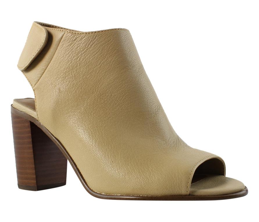 Steve Madden Womens Natural Pep Toe Heel Size 8.5 New