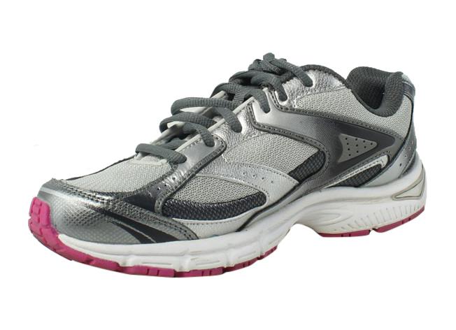 Avia Womens Silver Walking, Hiking, Trail Shoes Size 6.5