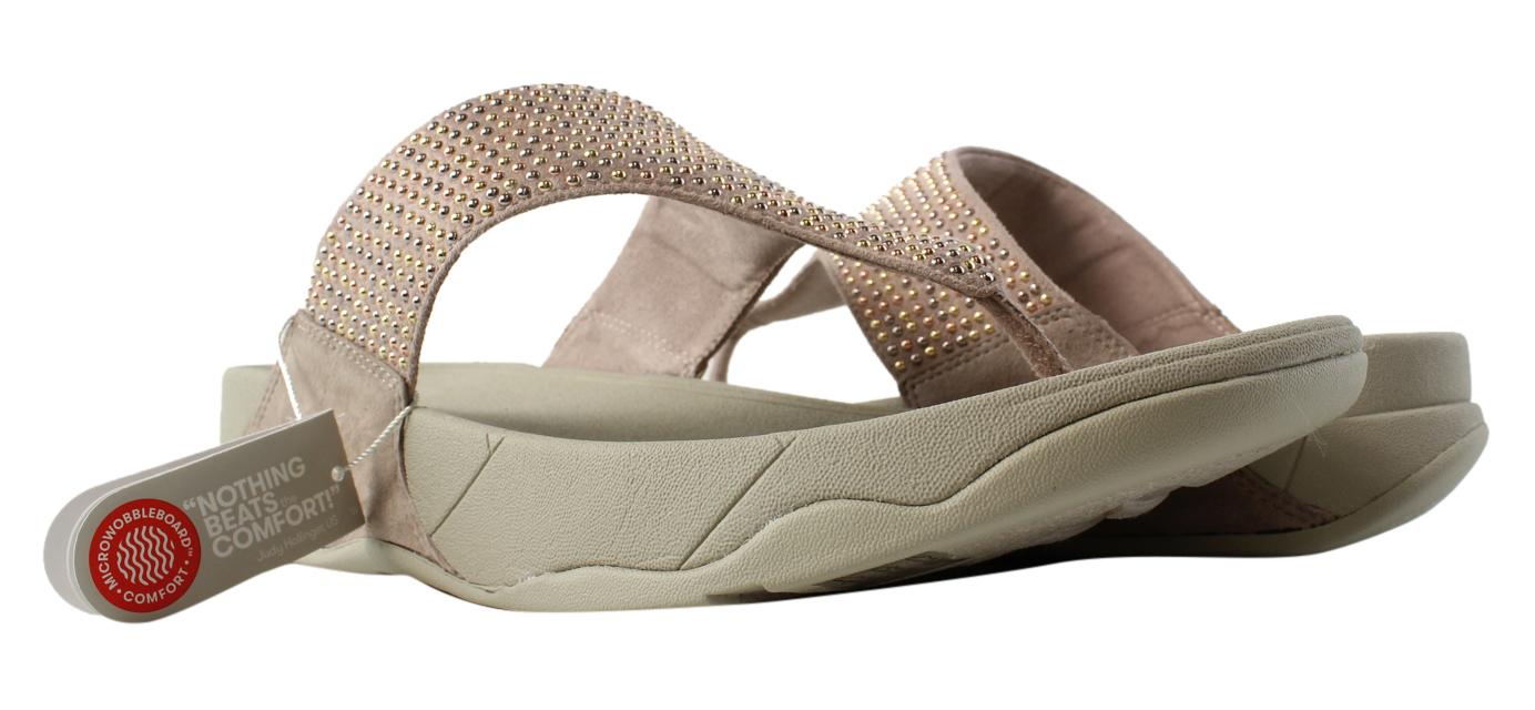 a9a9824ba43b FitFlop Womens Lulu Popstud Toepost T-Strap Sandals