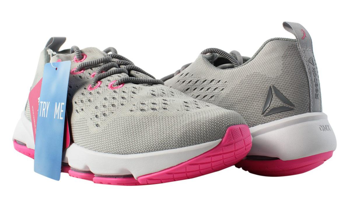 fa431b598d6 New Reebok Womens Cloudride Ls Dmx Gray Walking Shoes Size 6
