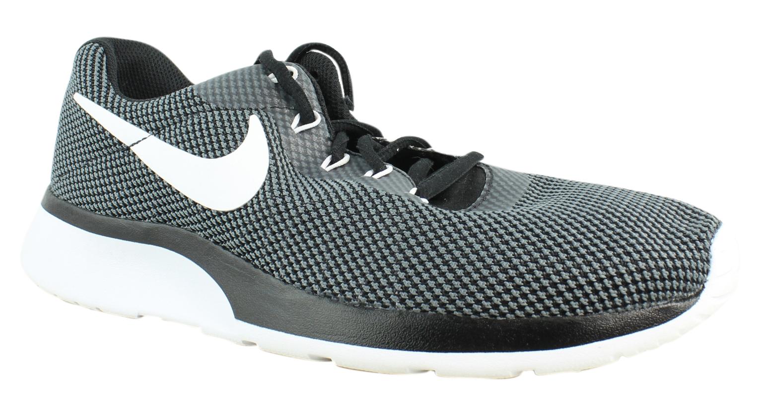Nike Mens Tanjun Racer Black Running Shoes Size 9.5 (312105)