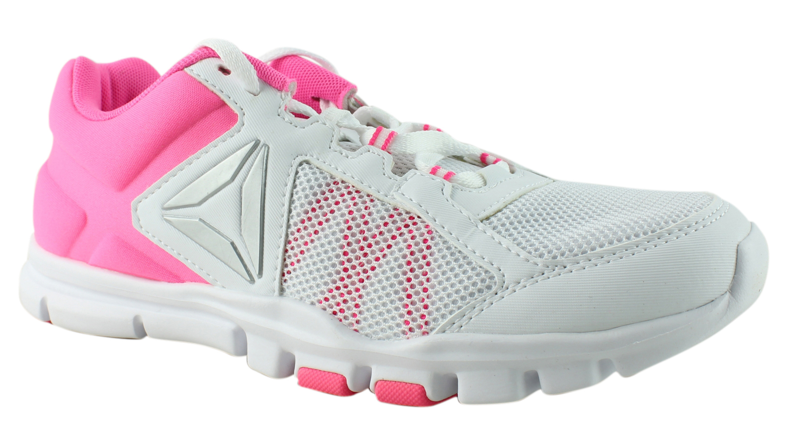 5a29f4530b1 New Reebok Womens Yourflex Trainette 9.0 Mt Pink Cross Training Shoes Size  7.5