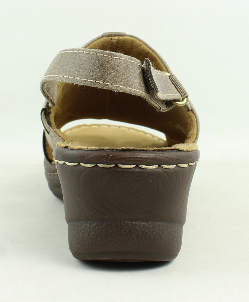 79befc6e0760 Naturalsoul Womens Brown Ankle Strap Sandals Size 7 (363316)