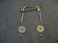 screen-door handle w/ hardware