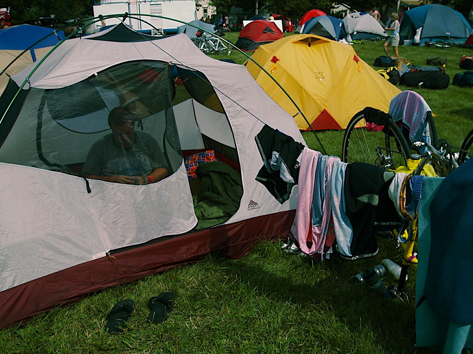 Camp made