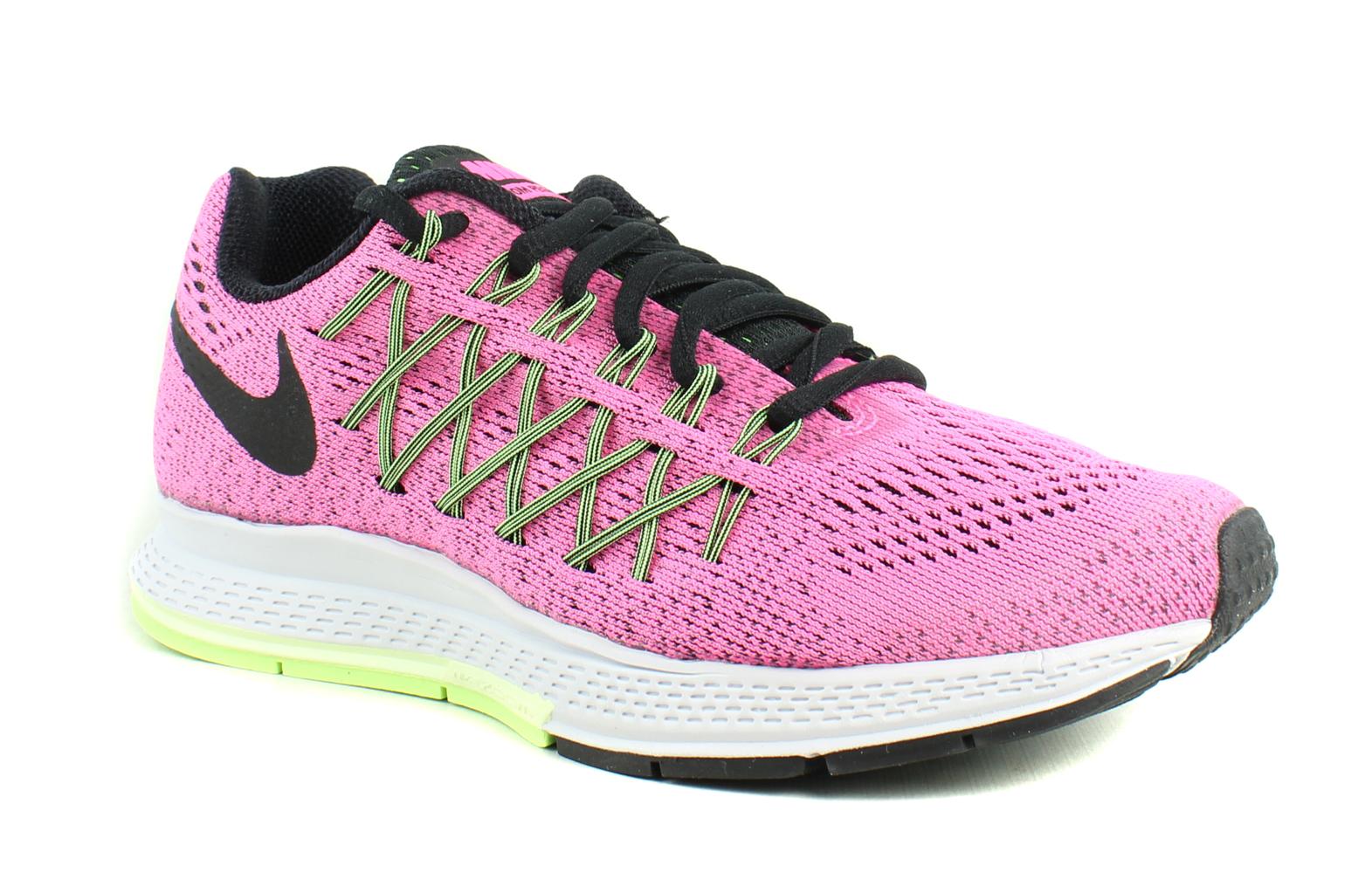 info for a9eec 528b0 ... latest fashion e07c8 c2072 New Nike Womens Air Zoom Pegasus 32 (W)  PinkPowBlackBrlyVoltGhstGreen Running ...