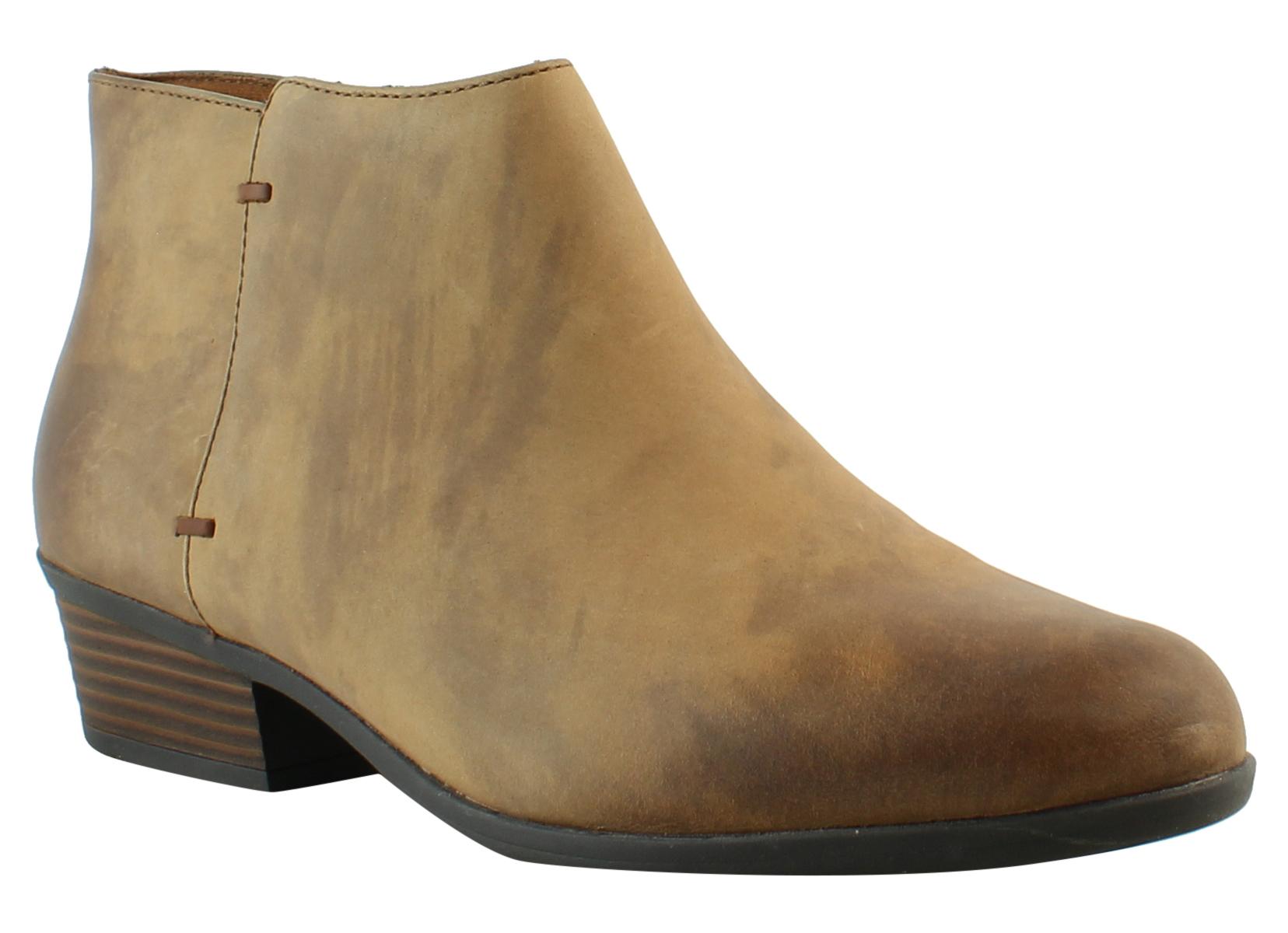 Clarks Womens Addiy Zora Black Booties Size 10 (257152)