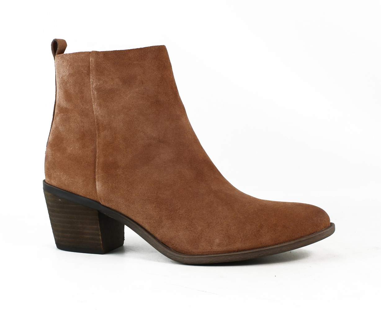 New Lucky Brand Womens Lk-Natania Toffee Ankle Boots Size 10