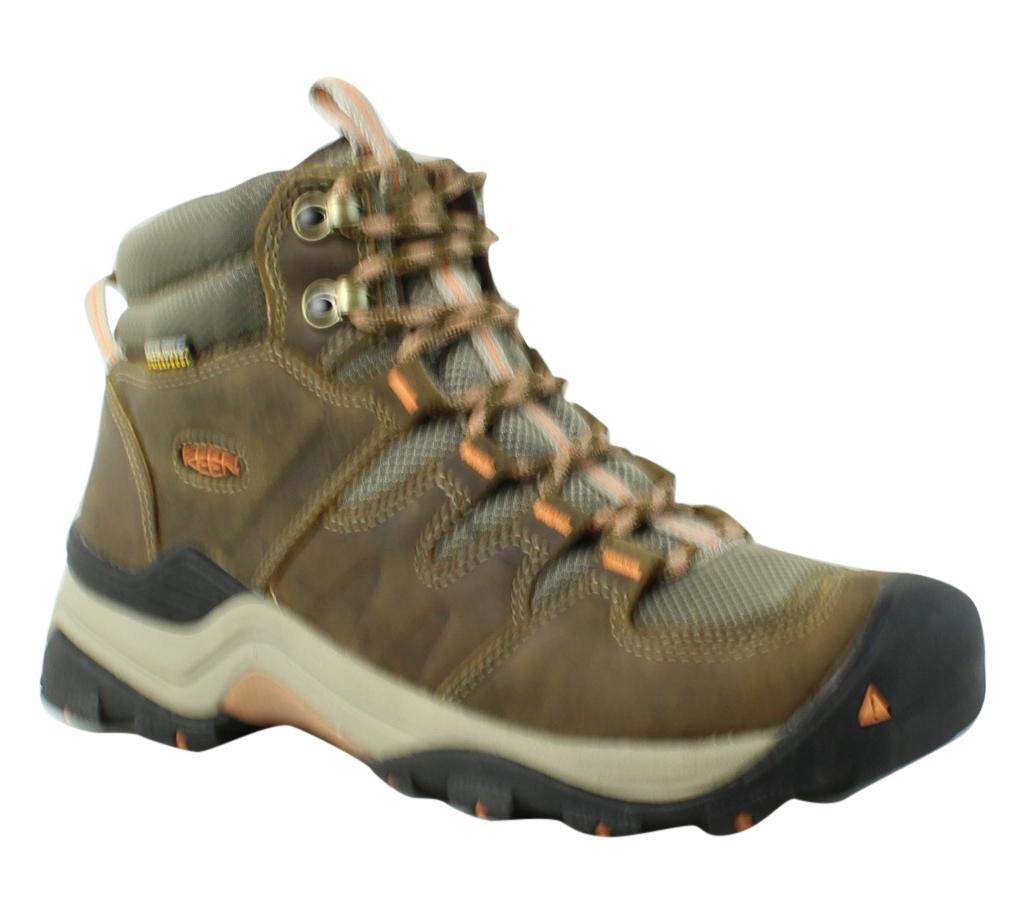 KEEN Damenschuhe Gypsumiimidwp-W-W Braun Hiking Stiefel Größe 8.5 (346679)