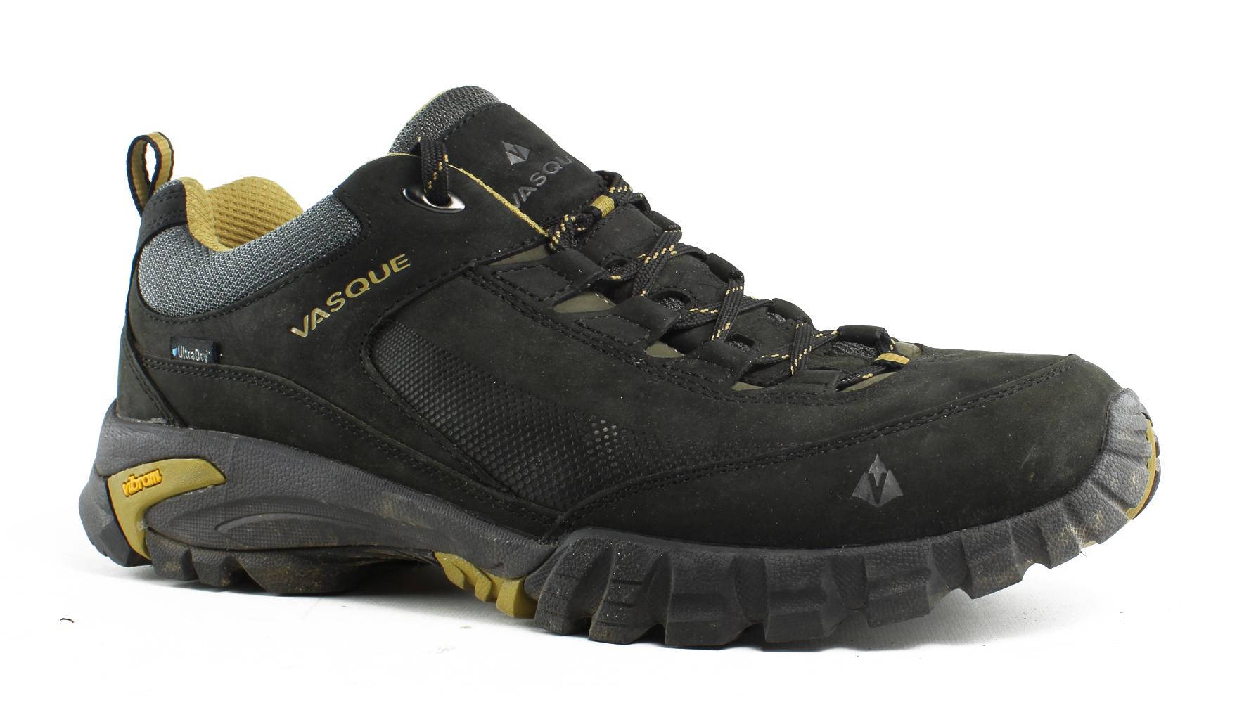 Vasque hommes Talus Trek Low Ultradry noir /DriedTobacco Trail / Hiking Chaussures Size