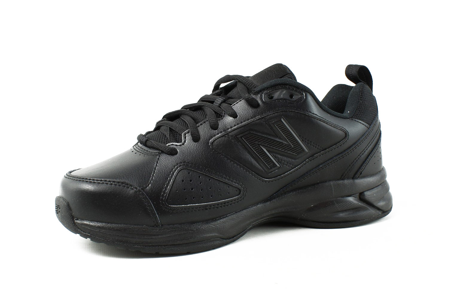 893f083a8334 ... New Balance Mens - BlackLeather Walking Shoes Size Size Size 7.5 (3E)  (347115 ...