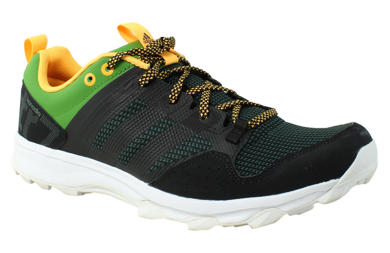 Adidas Mens - 10.5 Black/Black/White Running Shoes Size 10.5 - (347141) 078fd4