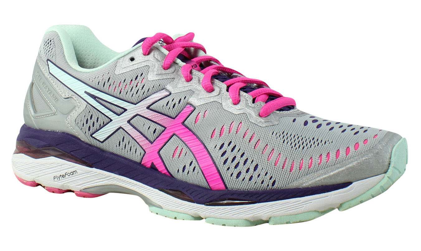ASICS Womens - Silver Running Shoes Size 8.5 (351671)