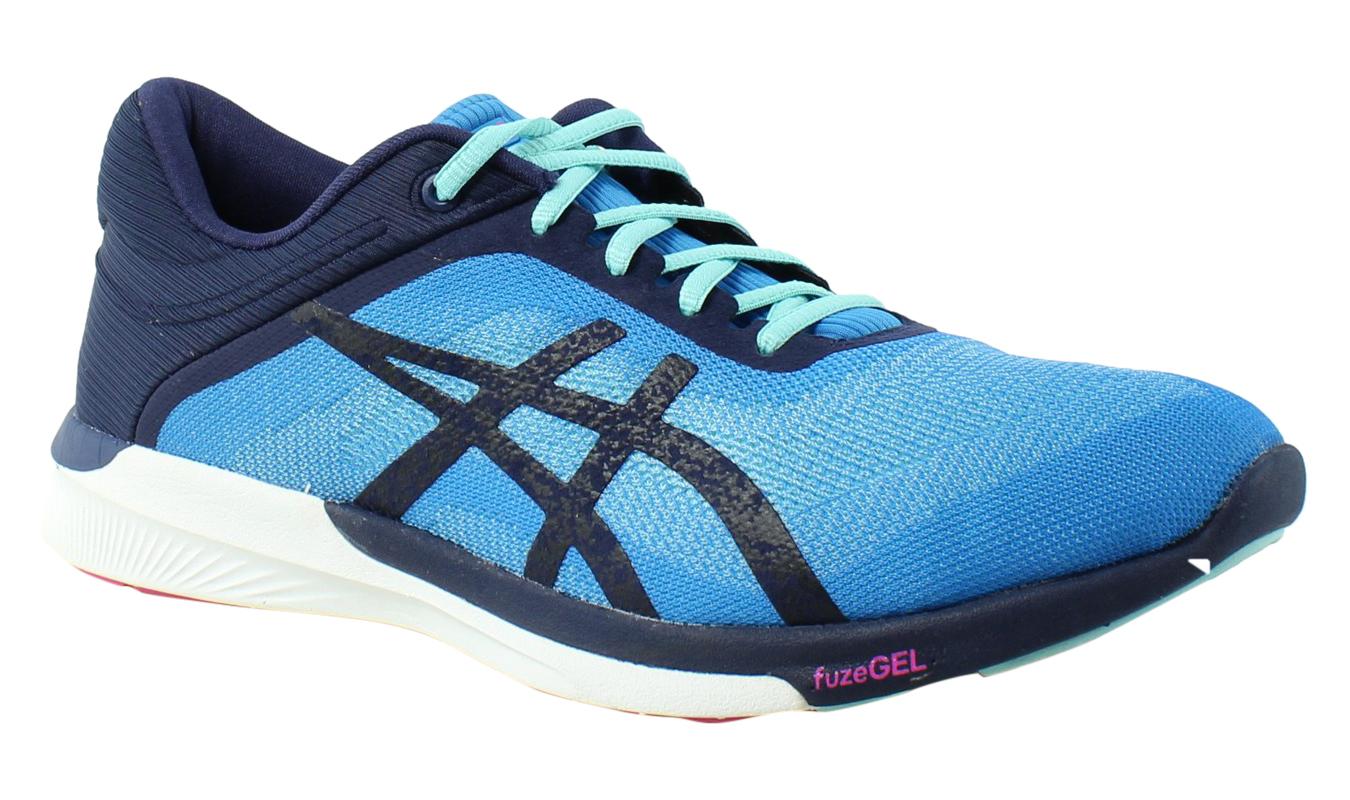 ASICS Damenschuhe - Blau Running Schuhes Größe 8 (351691)