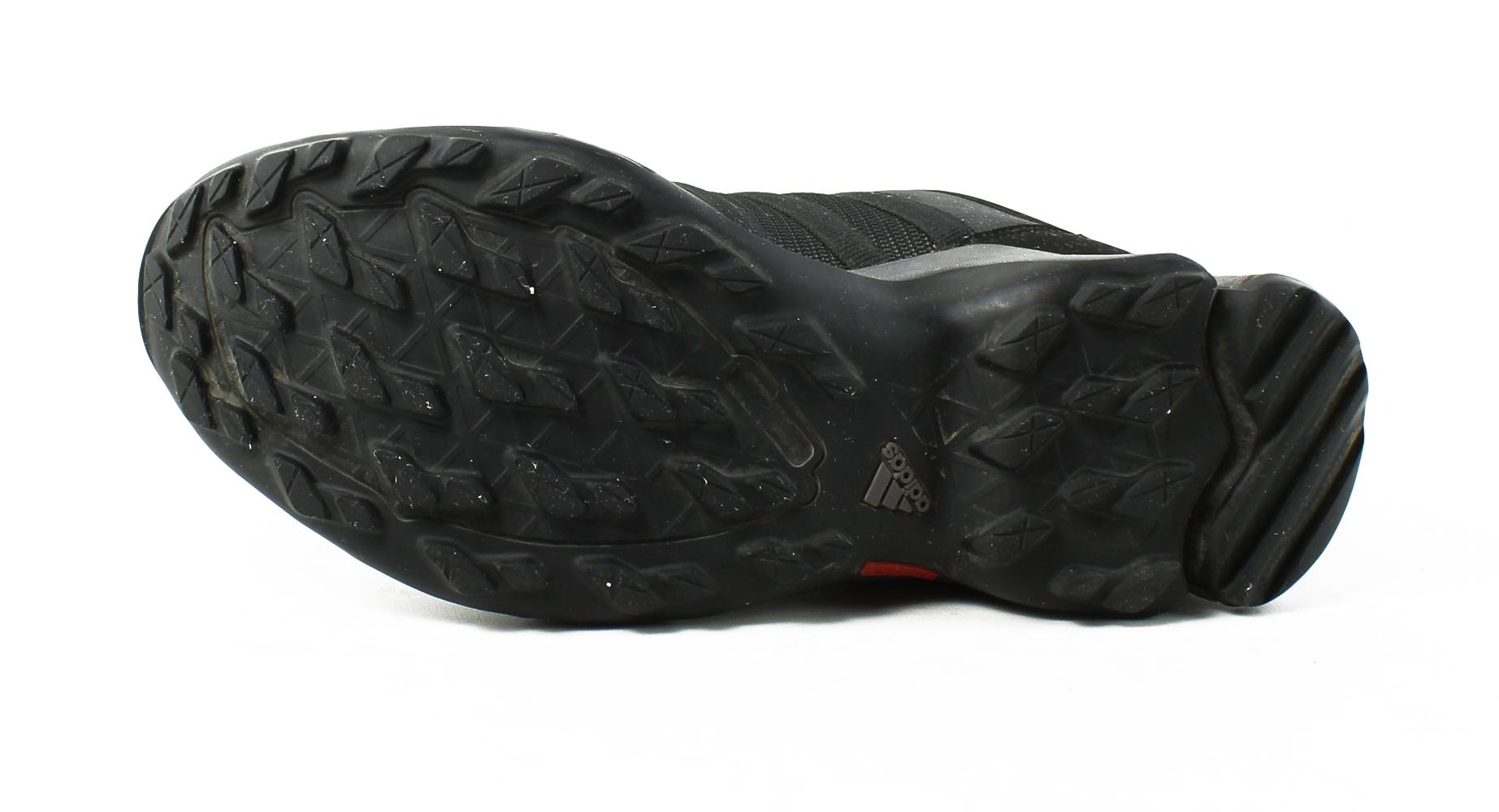 Adidas / - mens - utilityschwarz / Adidas schwarz / lightscarlet trail / wanderschuhe größe 9,5 444ad7