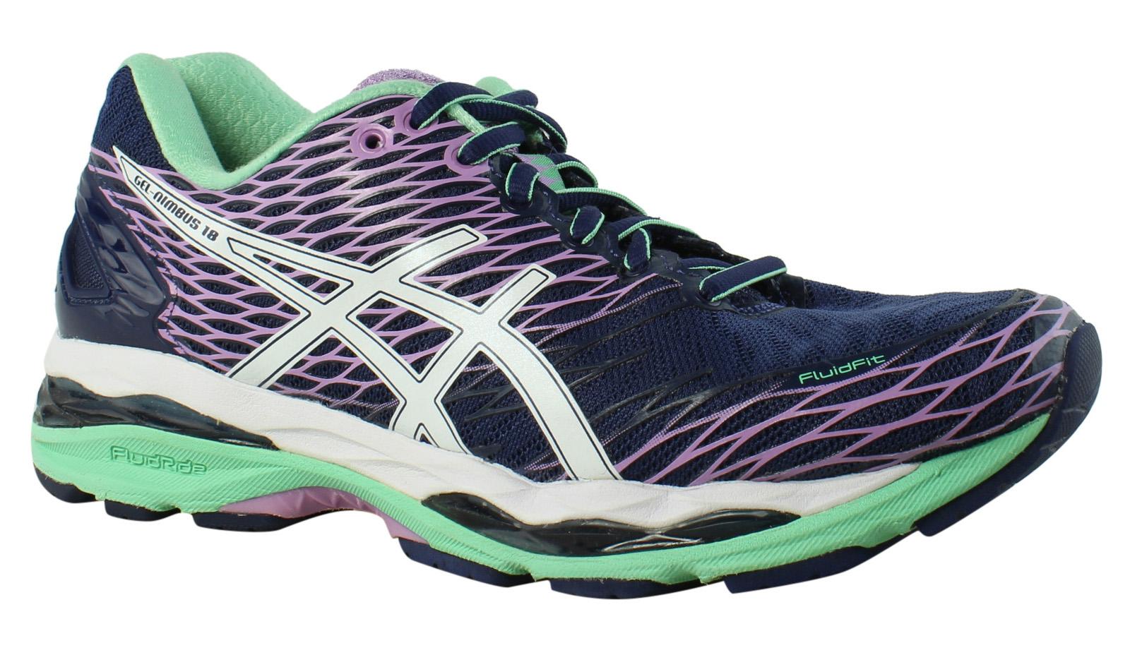 ASICS Damenschuhe - Blau Running Schuhes Größe 8 (351930)