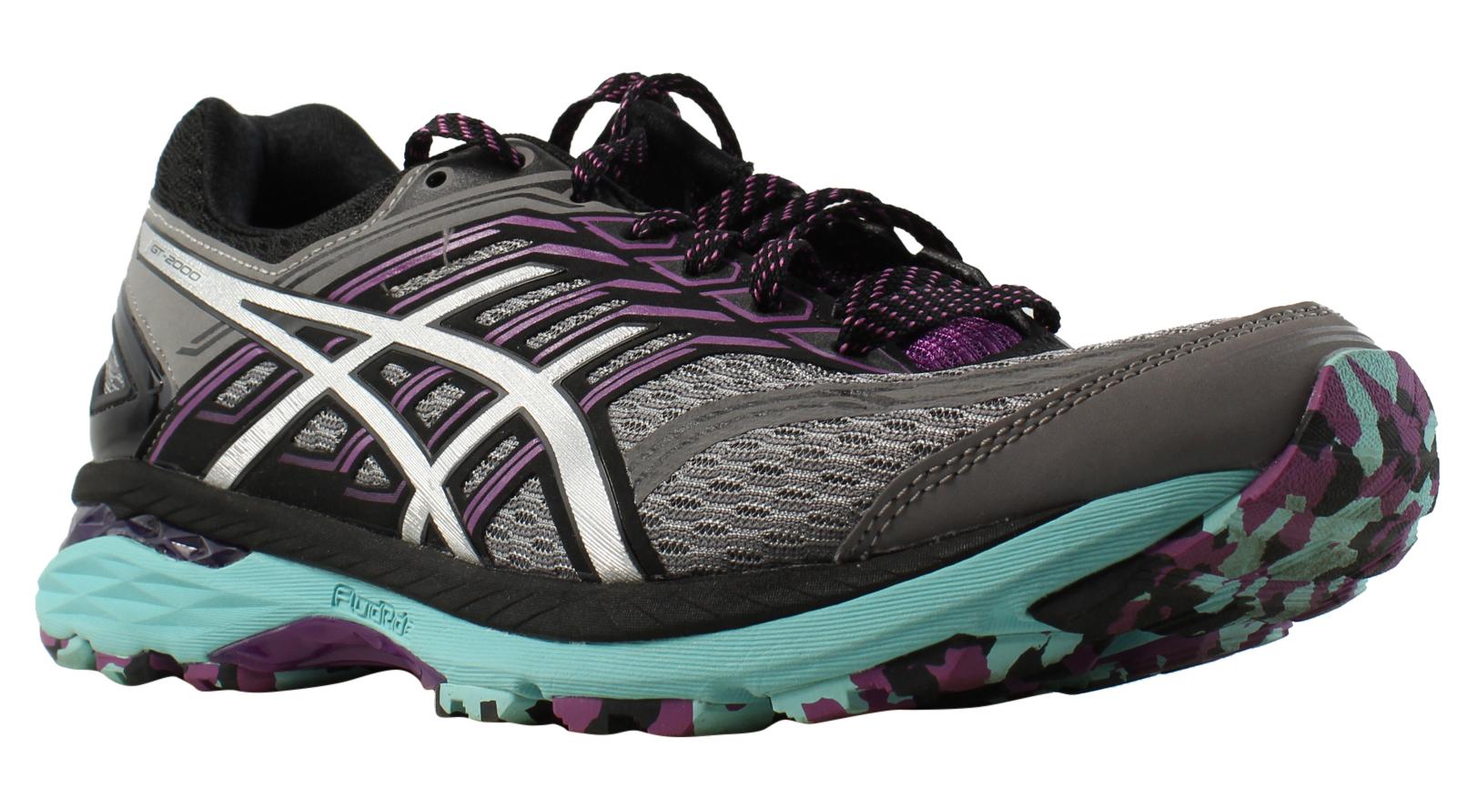 ASICS Damenschuhe Gt-2000 5 Trail Gray Trail Schuhes Größe 9 (352000)