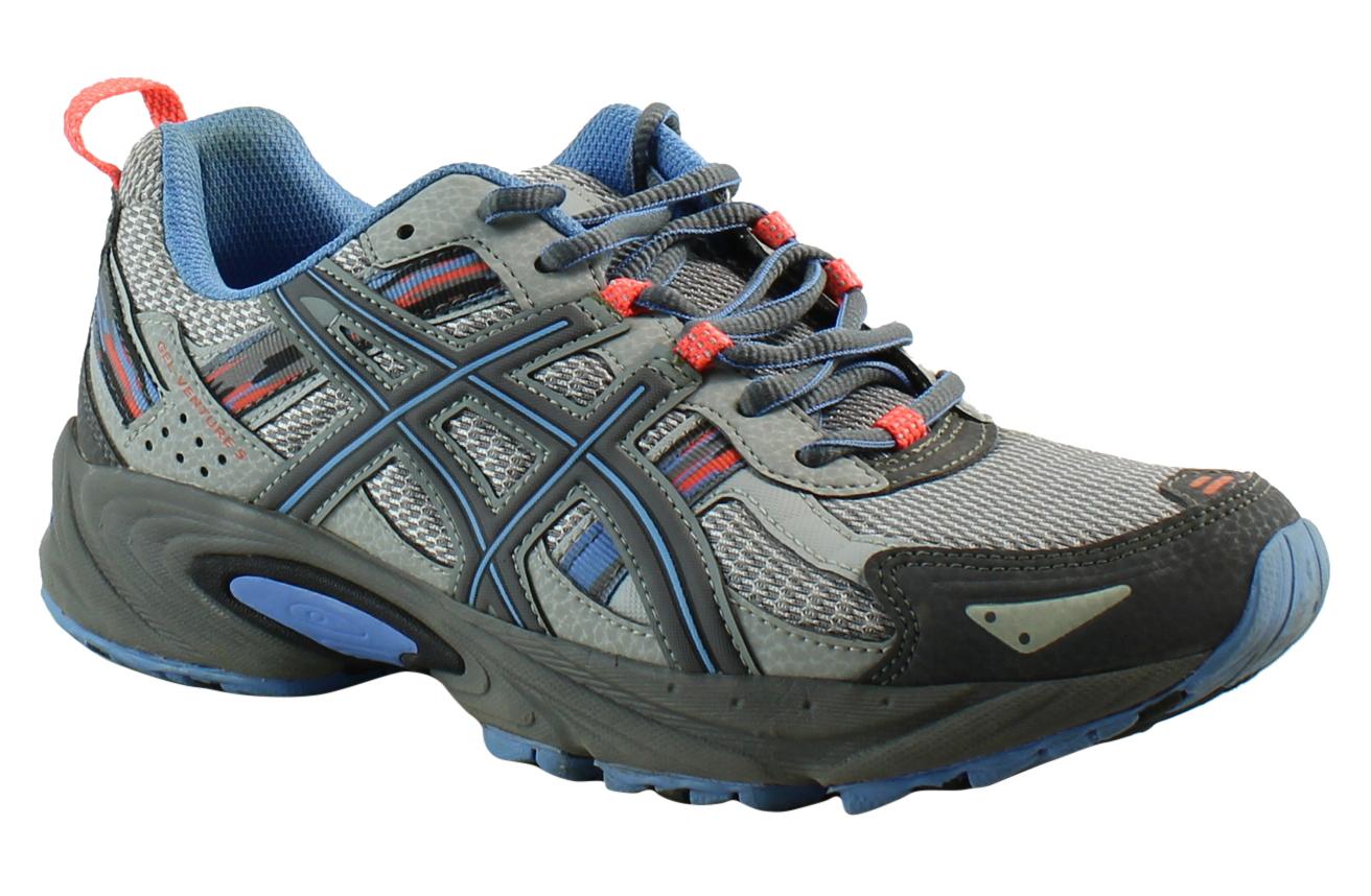 ASICS Damenschuhe Gel-Venture5-W Gray Running Schuhes Größe 9 (352754)