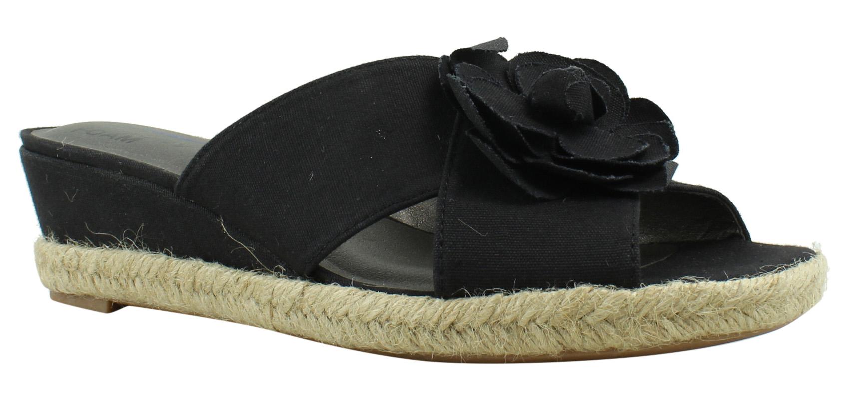 LifeStride Womens Sandals Black Sandals Womens Size 9 (424186) c11654