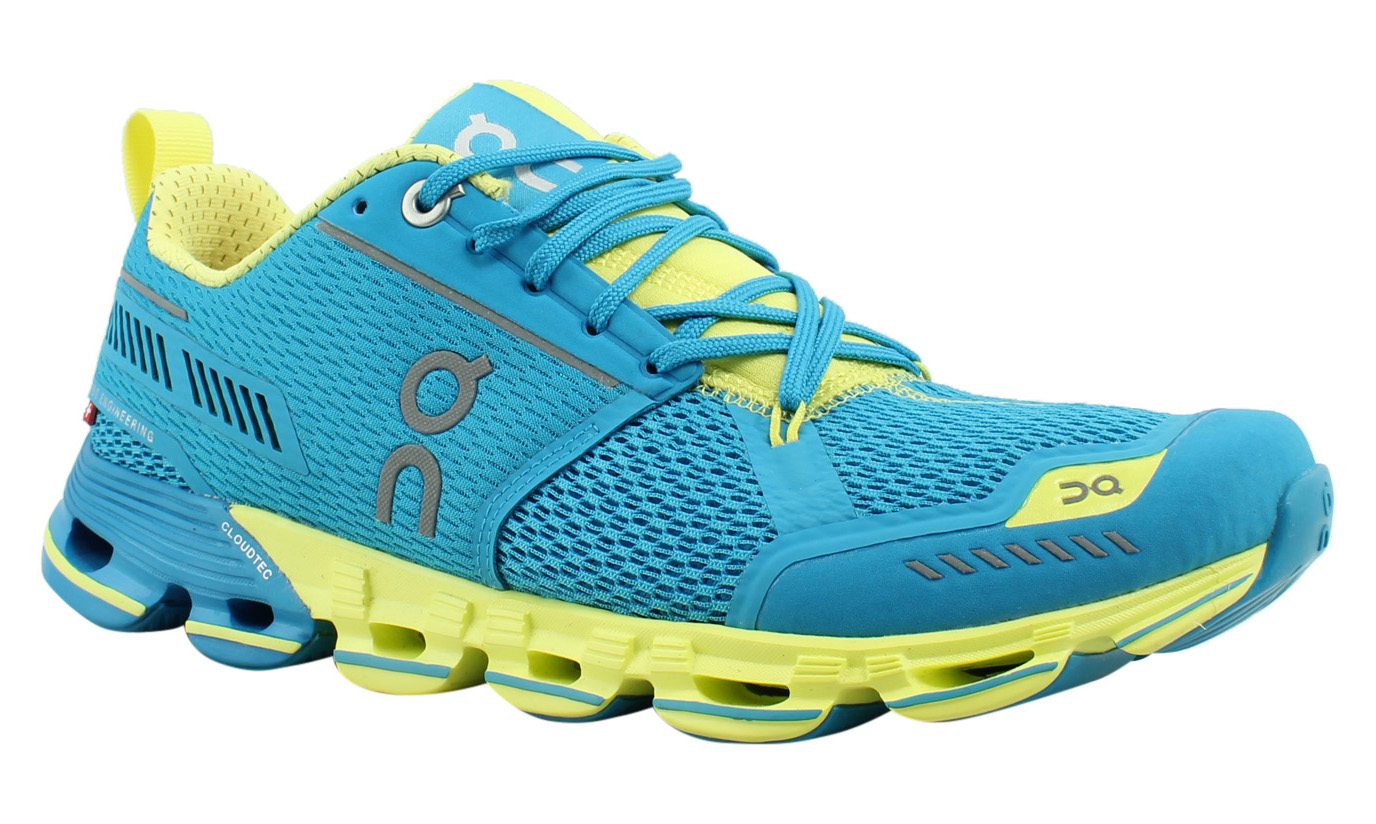 On Cloud Womens Cloudflyer Blue Running Shoes Size 8 (424190)