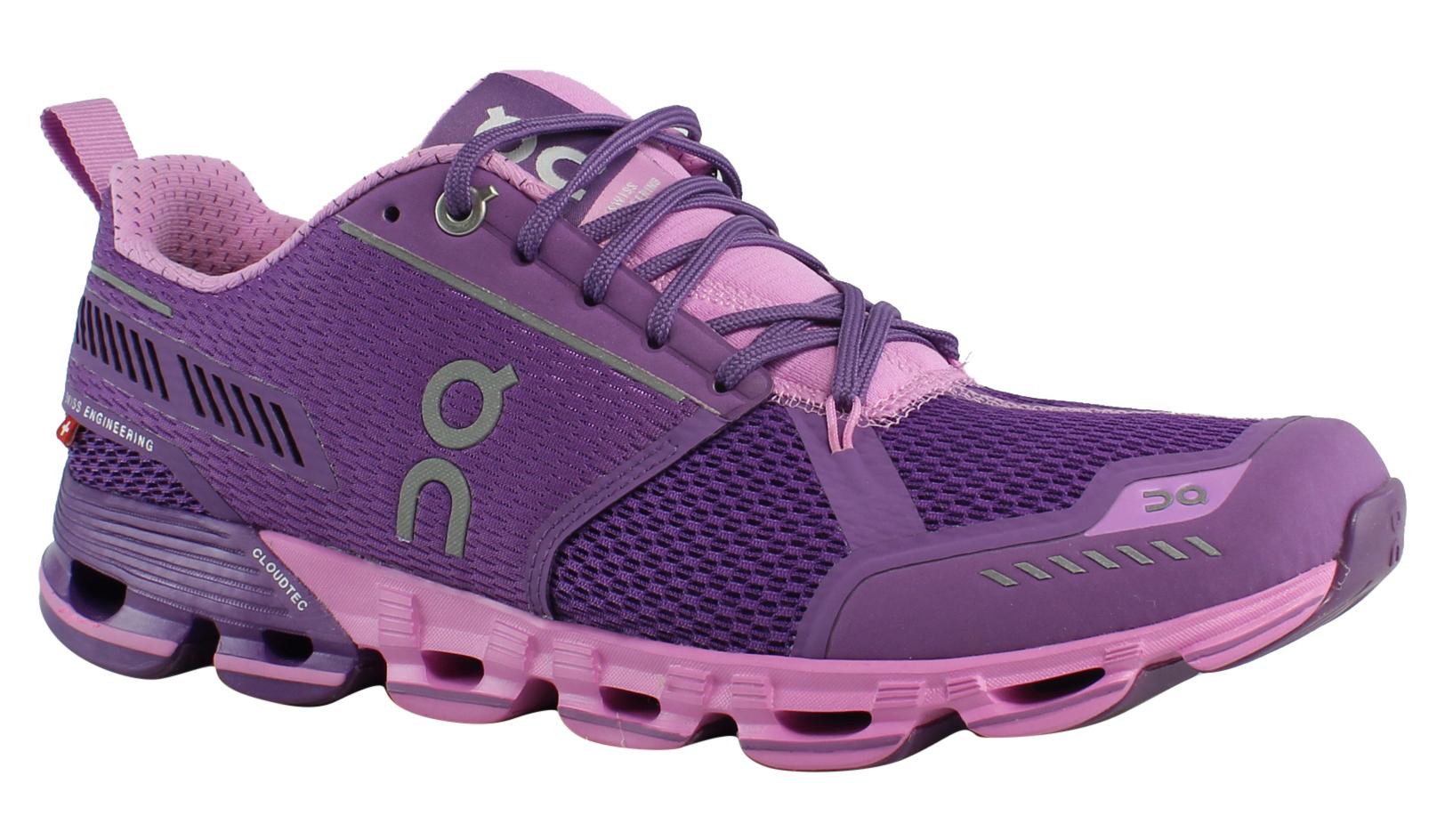 On Cloud Damenschuhe Cloudflyer Purple Running Schuhes Größe 8.5 (429969)