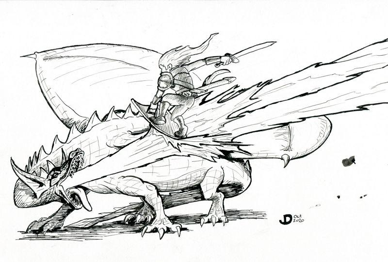 The Dragon Battle