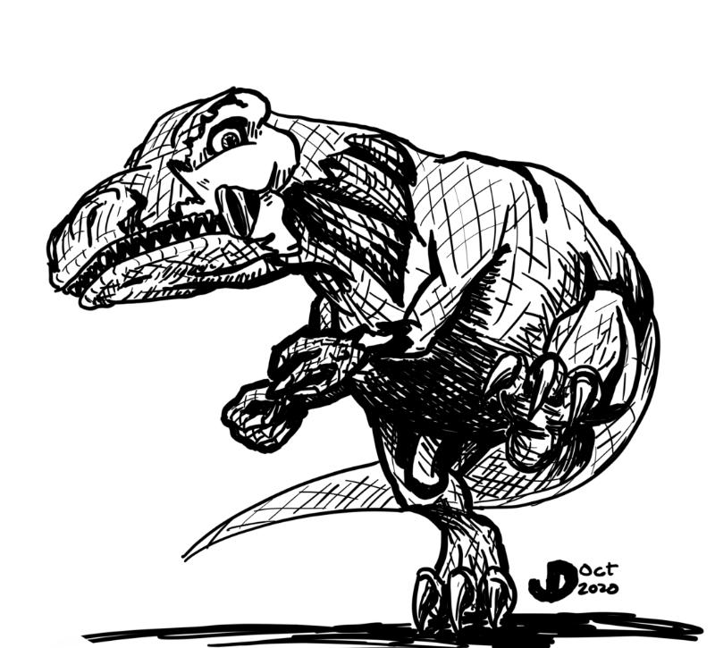 Zombiesaurus Rex