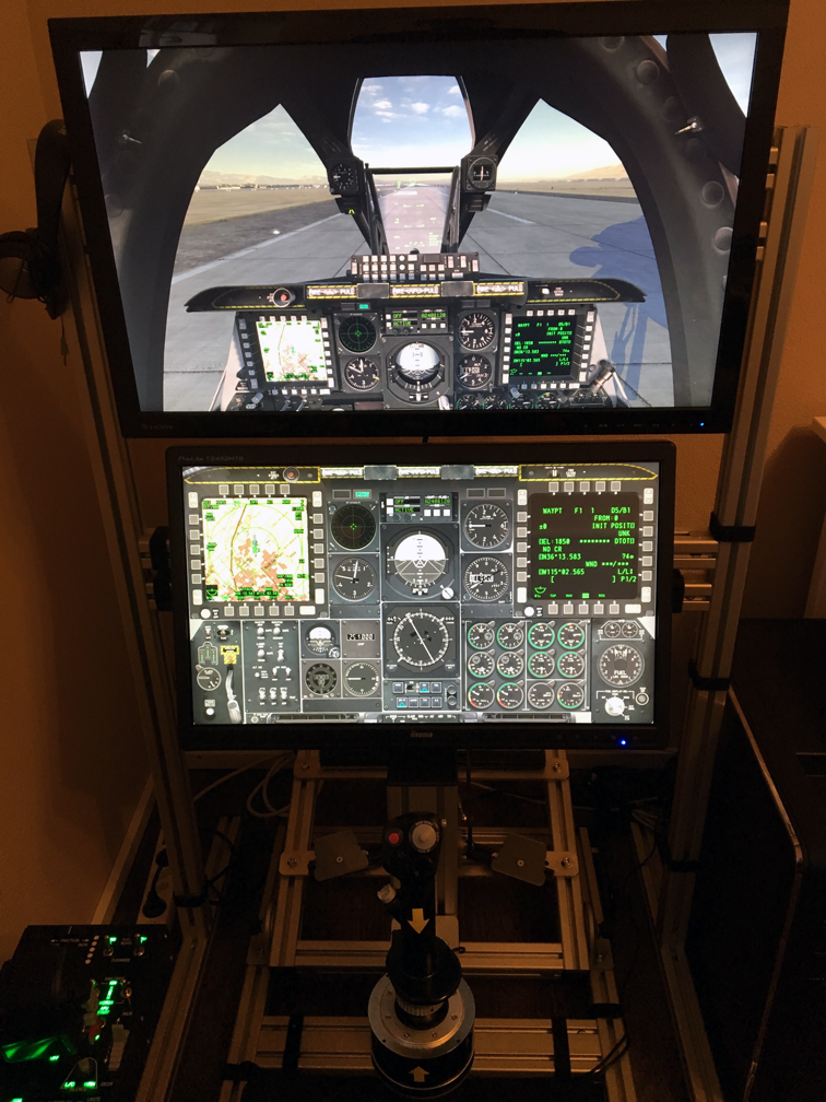 Monstertech Sim Rig for the A-10C - ED Forums