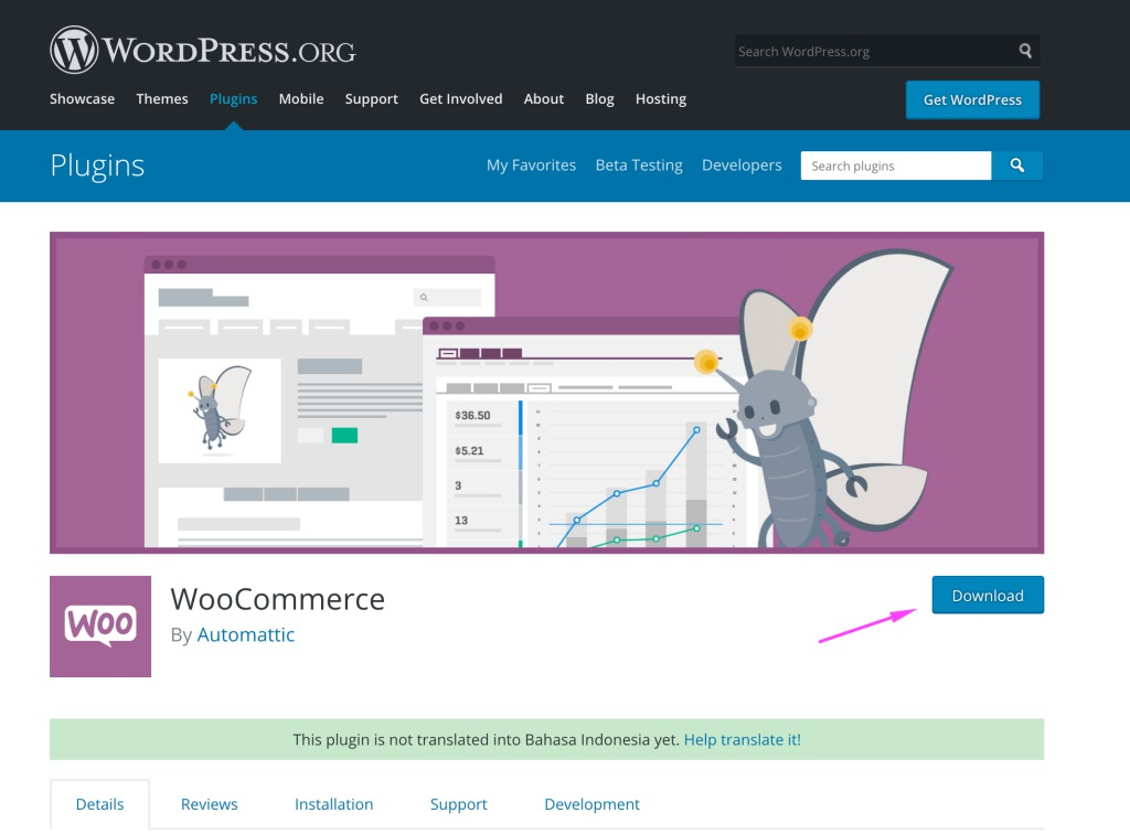 Cara mendownload plugin wordpress bagus