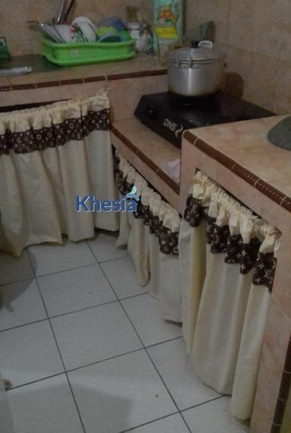contoh gorden kolong dapur
