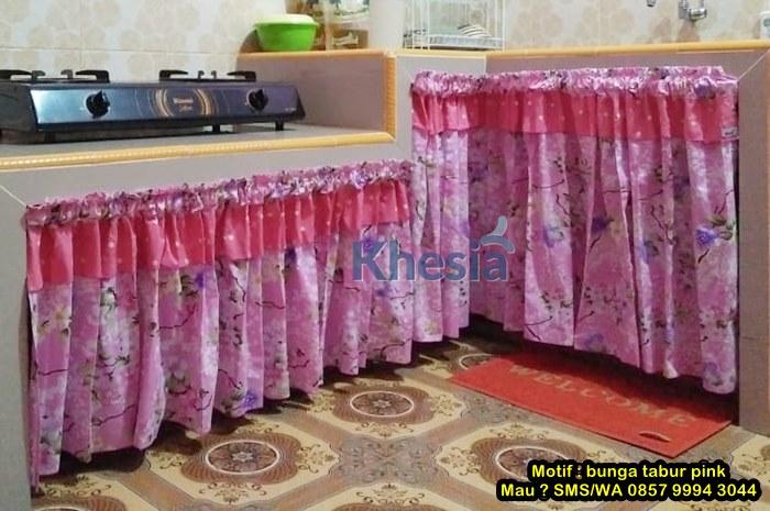 dekorasi gorden dapur