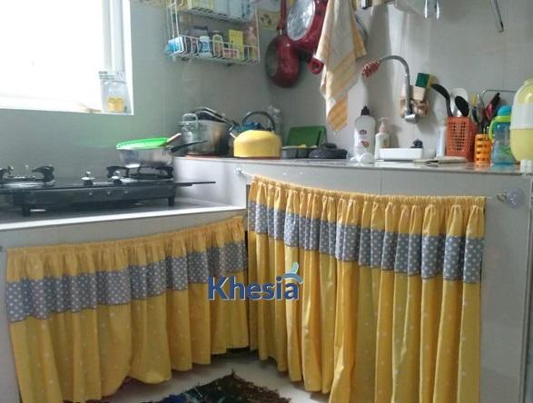 kawat gorden kolong dapur