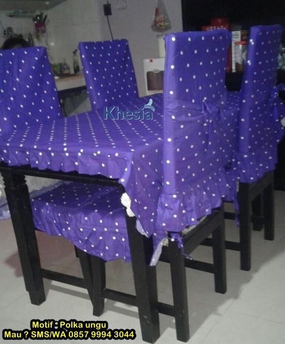 taplak meja makan set