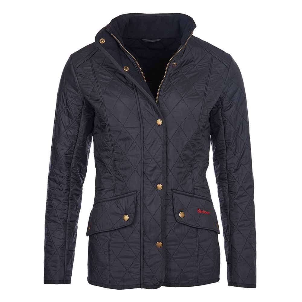 Barbour Cavalry Polarquilt Navy Jacket