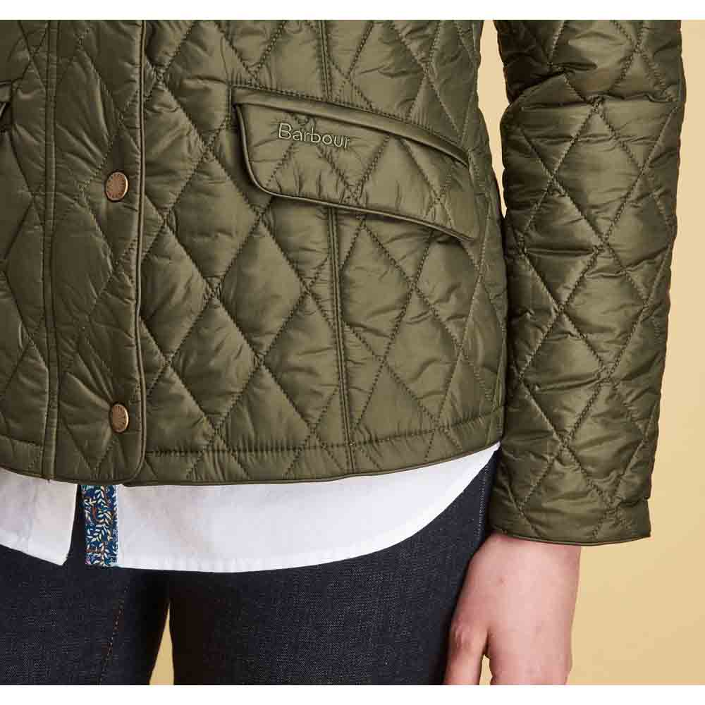 Barbour Victoria Olive and Persiphone Quilted Jacket