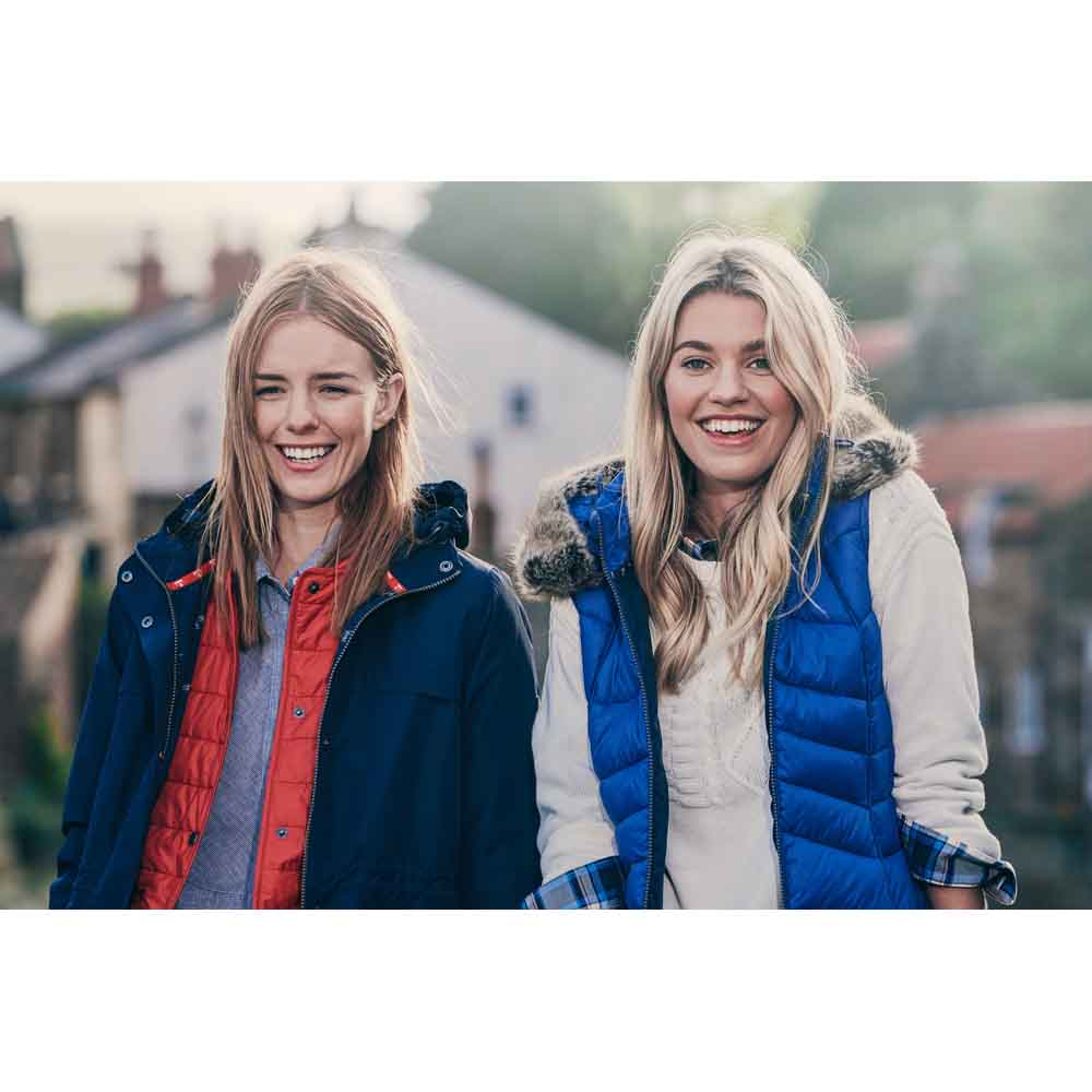 Barbour Bernera Sea Blue and Navy Gilet