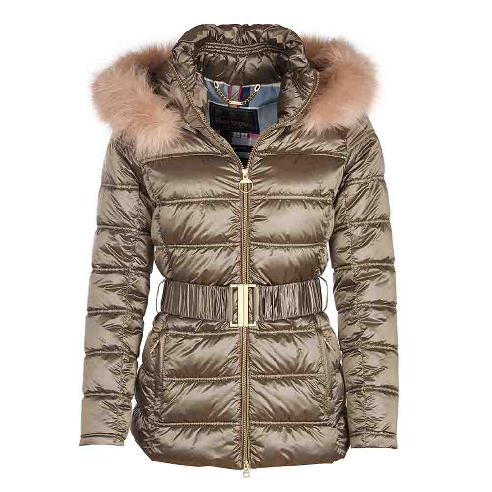Barbour Sundrum Mink Quilt