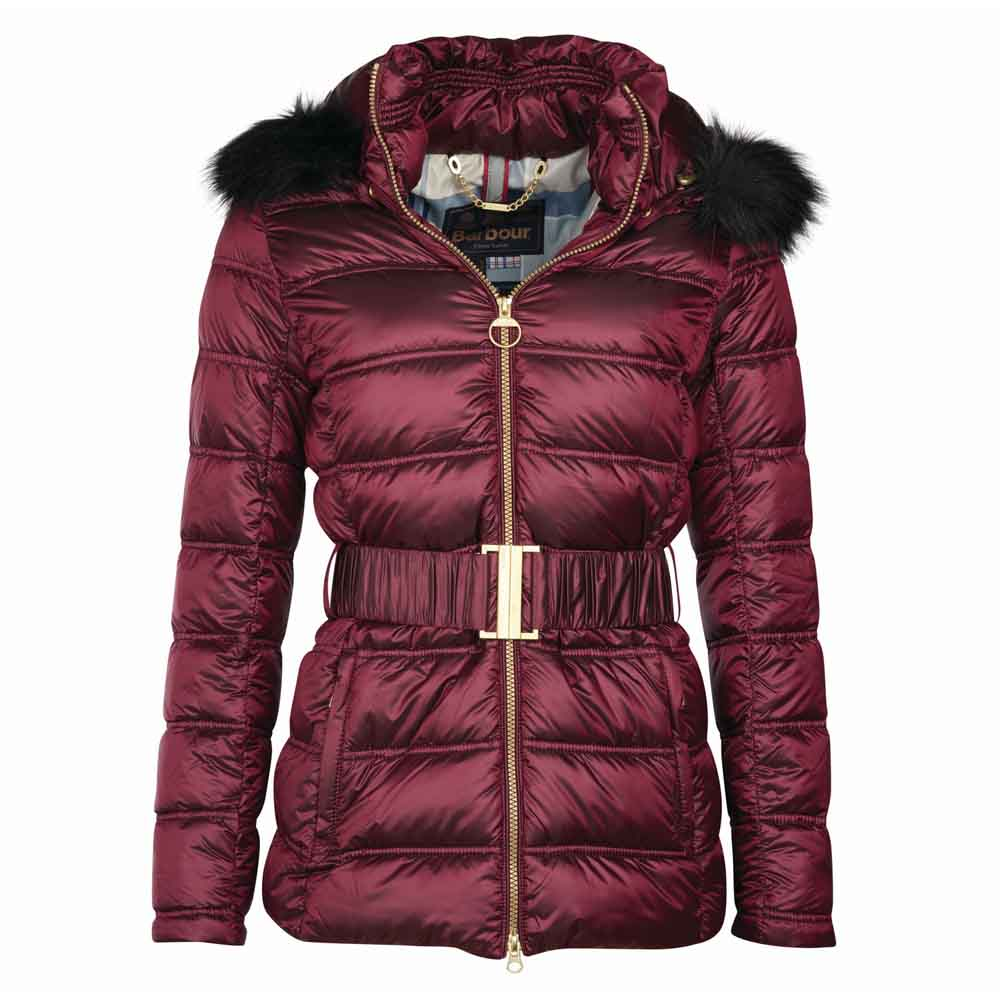 Barbour Sundrum Berry Pink Quilt