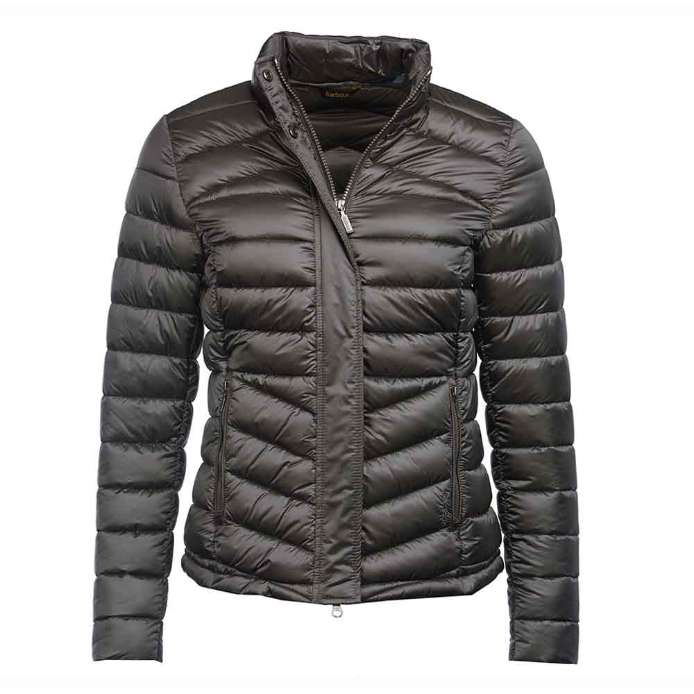 Barbour Vartersay Ash Grey Quilt