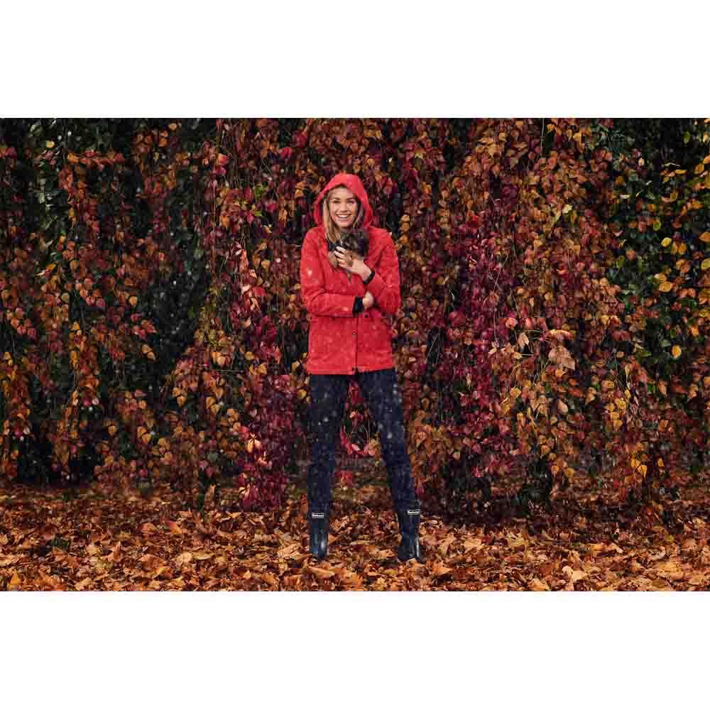 Barbour Altair Tartan Red Waterproof Jacket