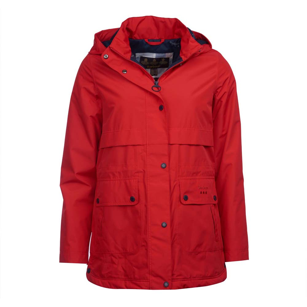 Barbour Altair Tartan Red Waterproof Jacket