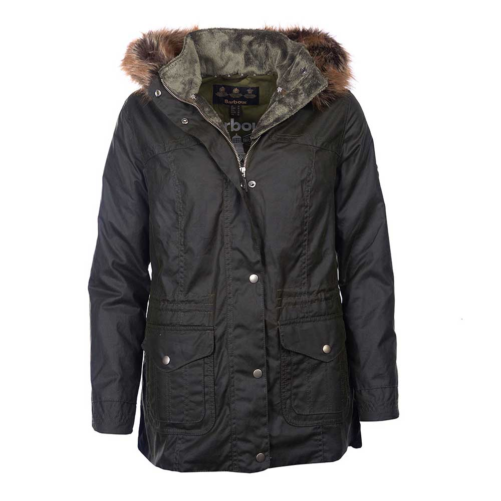 Barbour Southwold Fern Waxed Jacket