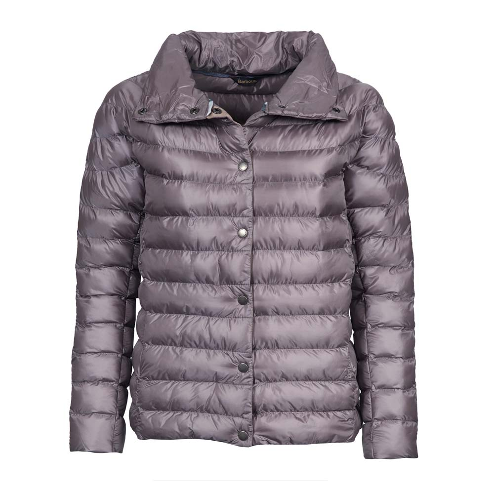 BARBOUR AERIELLE ZINC QUILTED JACKET