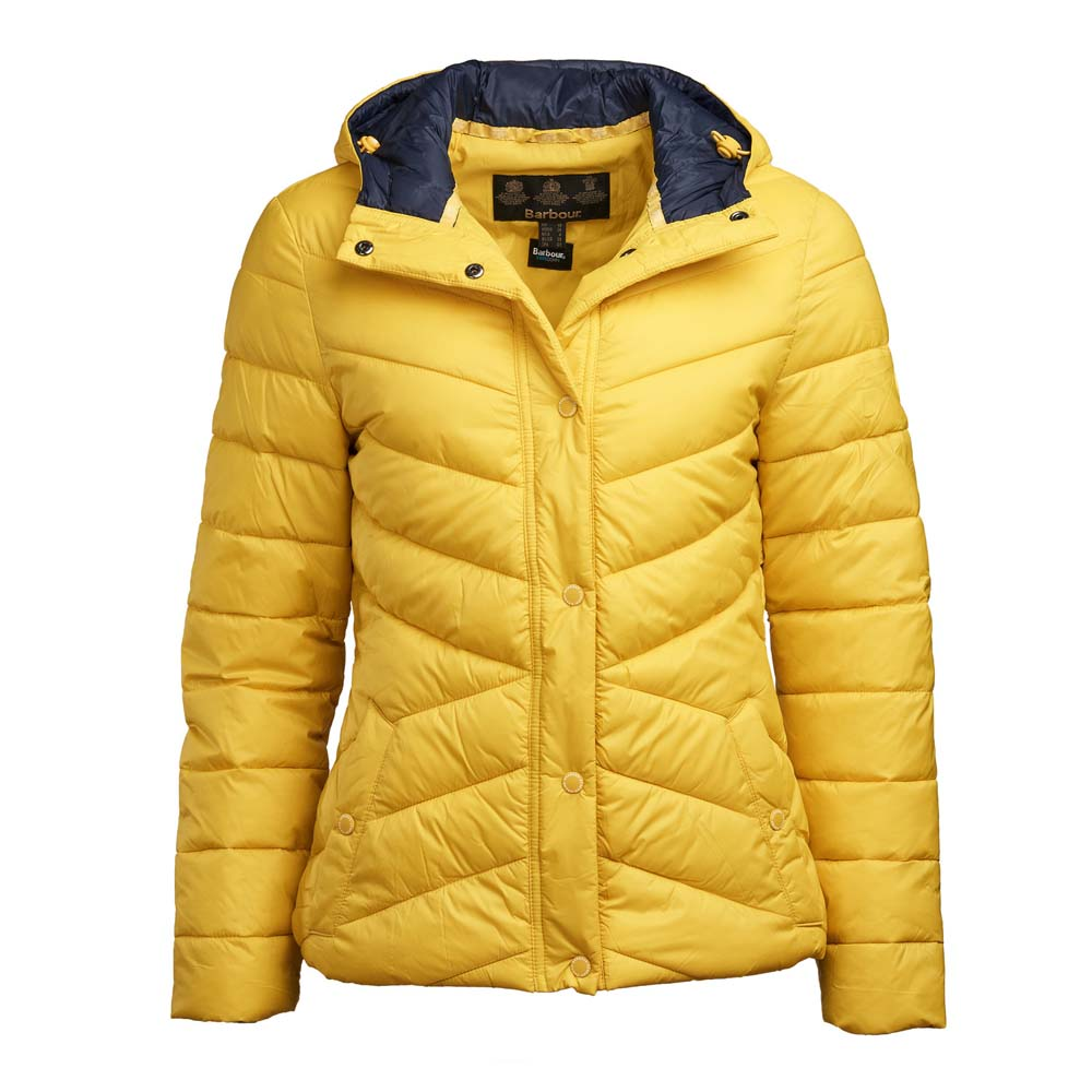 Barbour Hawse Yellow Qulited Jacket